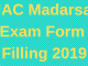 JAC Madarsa Exam Form 2019
