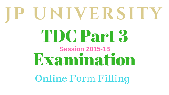 JPU TDC Part 3 exam 2018