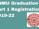 lnmu graduation part 1 registration 2019-22