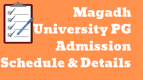 magadh university pg admission