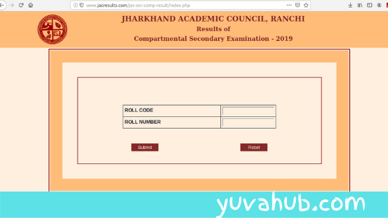 jharkhand compartmental result 2019