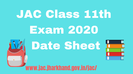 jac class 11th board exam 2020