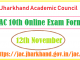 JAC 10th Exam Form 2020