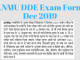 lnmu dde exam form