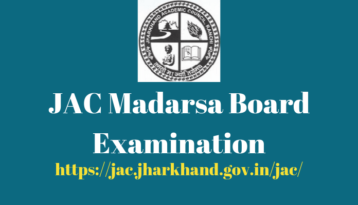 JAC Madarsa Board Examination 2020