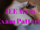 JEE Main Exam Pattern 2020