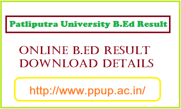 PPU BEd Result