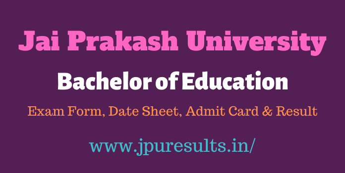 JPU Bed 2nd year result 2020