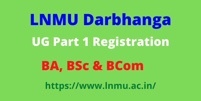lnmu part 1 registration 2021