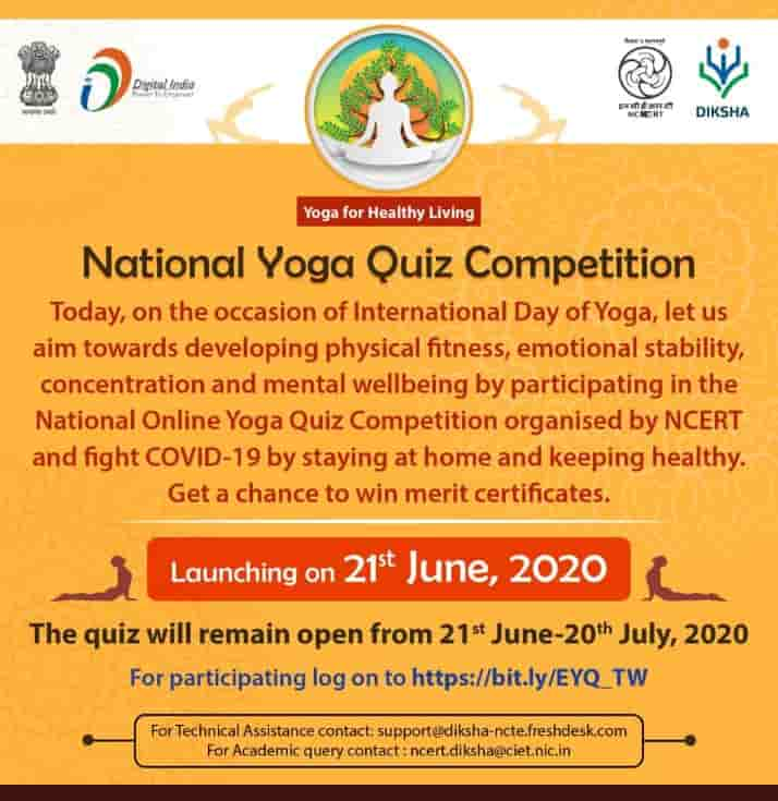National Yoga Quiz competition
